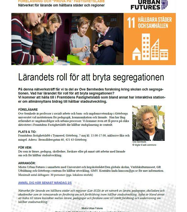 Lärandets roll för att bryta segregationen