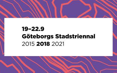 Göteborgs Stadstriennal!