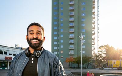 Digitala studiebesök med Göteborgs bostadsbolag